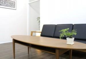 覚王山マイホームお客様用のソファの写真